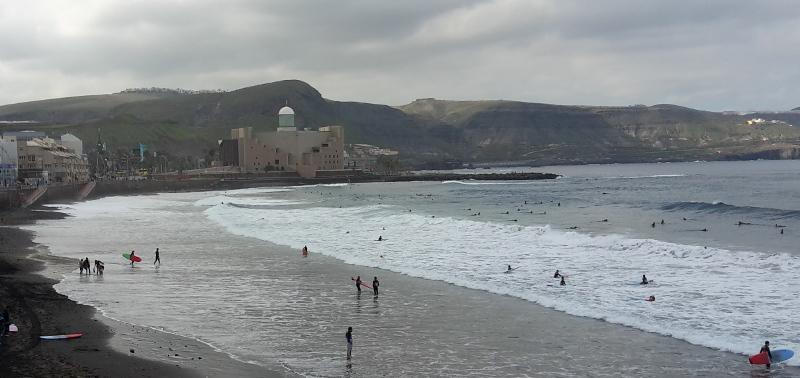Las Palmas on surffaajien mieleen.